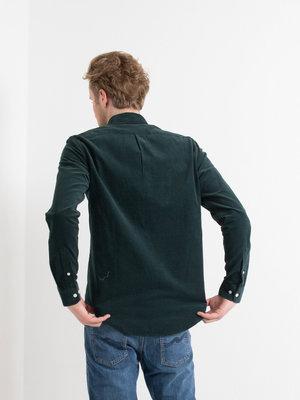 Samsøe Samsøe Samsøe Samsøe Liam NF shirt Darkest Spruce Melange