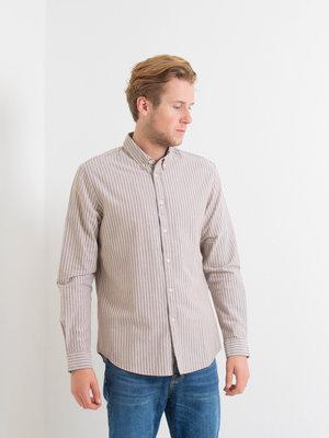 Samsøe Samsøe Samsøe Samsøe Liam BX shirt Cumin Stripe