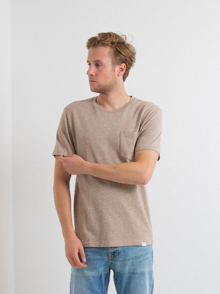 Samsøe Samsøe Samsøe Samsøe Carpo t-shirt mel Shitake