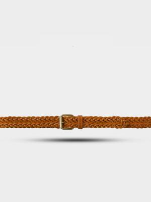 Nudie Jeans Nudie Jeans Brett Belt Braided Cognac