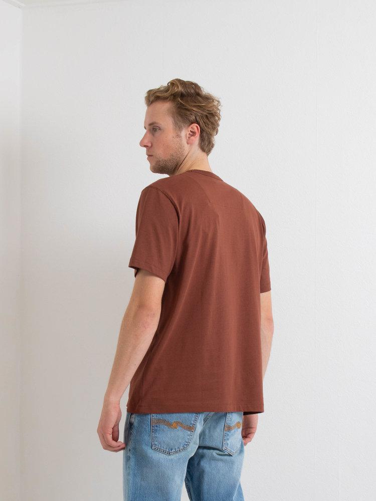 Samsøe Samsøe Samsøe Samsøe Hugo t-shirt Cinnamon