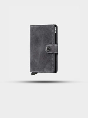 SECRID SECRID Miniwallet Vintage Grey/Black