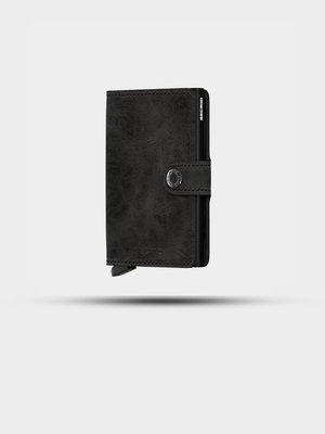 SECRID SECRID Miniwallet Vintage Black