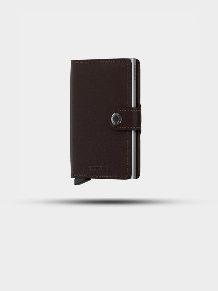 SECRID SECRID Miniwallet Original Dark Brown