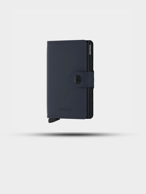 SECRID SECRID Miniwallet Matte Night Blue