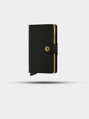 SECRID SECRID Miniwallet Crisple Black/Gold