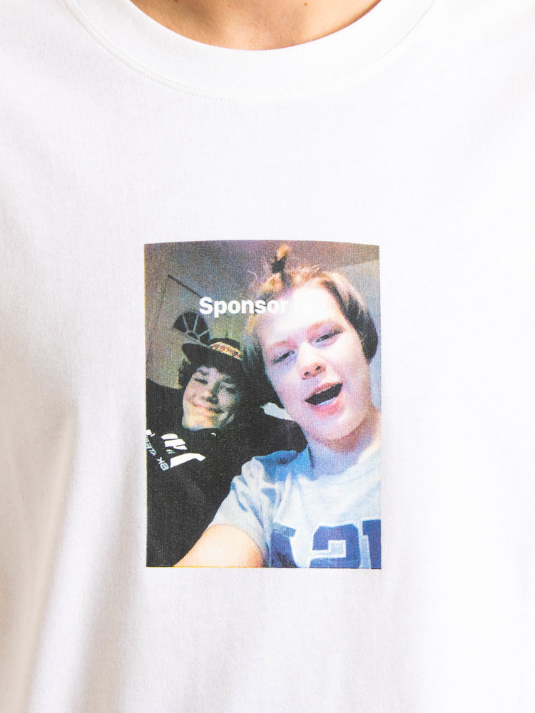 Polar Skate Co. Polar Skate Co. Sponsor Me T-Shirt White