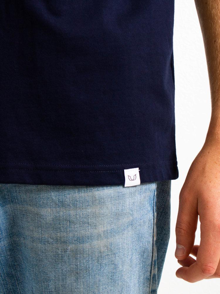 STUEN.Label STUEN.Basic Tee Navy
