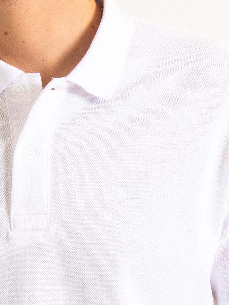 STUEN.Label STUEN.Basic Polo White