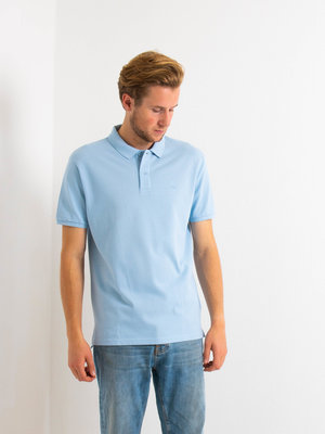 STUEN.Label STUEN.Basic Polo Sky Blue