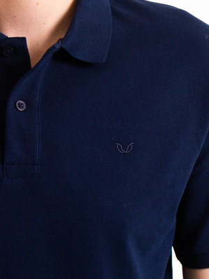 STUEN.Label STUEN.Basic Polo Navy