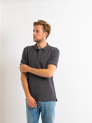 STUEN.Label STUEN.Basic Polo Black