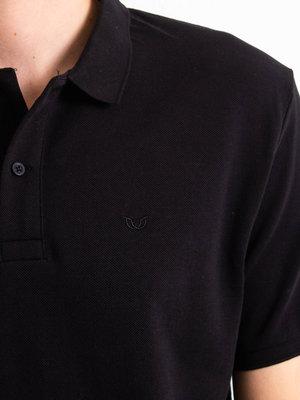 STUEN.Label STUEN.Basic Polo Black
