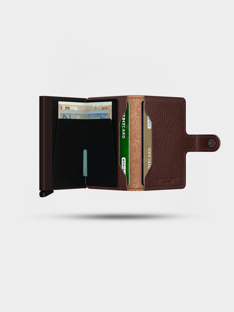 SECRID SECRID Miniwallet Veg Espresso