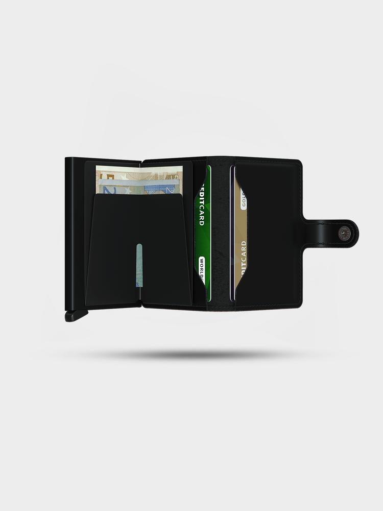 SECRID SECRID Miniwallet Matte Black