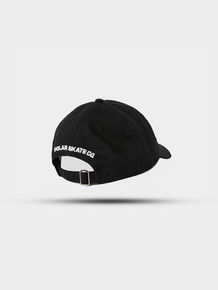 Polar Skate Co. Polar Stroke Logo Cap Black