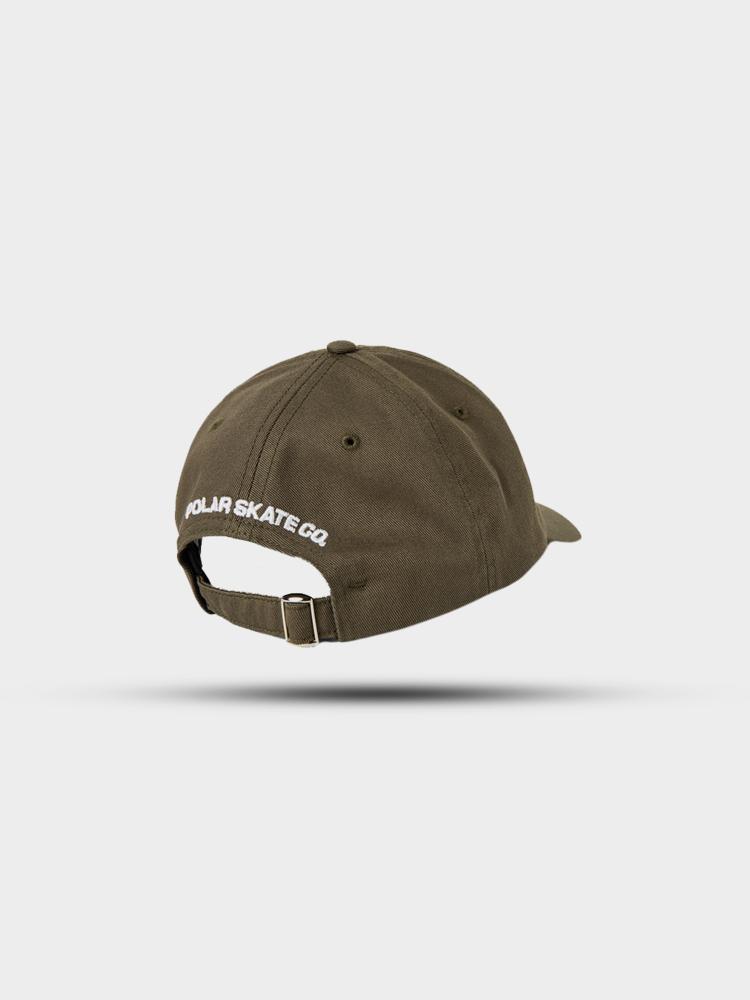 Polar Skate Co. Polar Stroke Logo Cap Olive