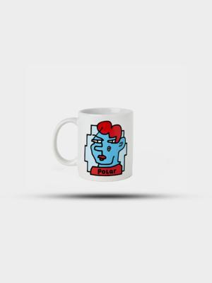 Polar Skate Co. Polar Doodle Face Mug