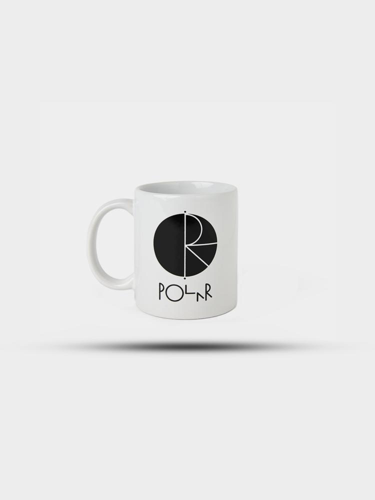 Polar Skate Co. Polar Fill Logo Mug Black