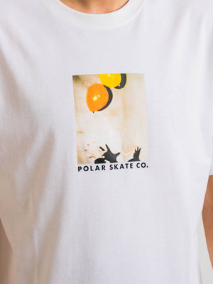 Polar Skate Co. Polar Balloon Tee White