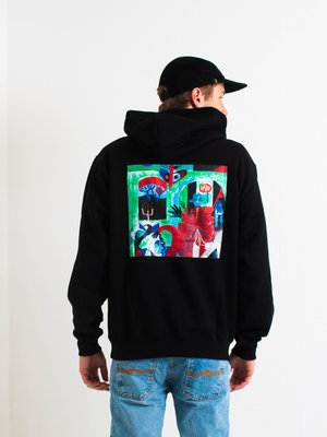 Polar Skate Co. Polar Moth House Hoodie Black