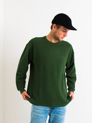 Polar Skate Co. Polar Shin Longsleeve Hunter Green