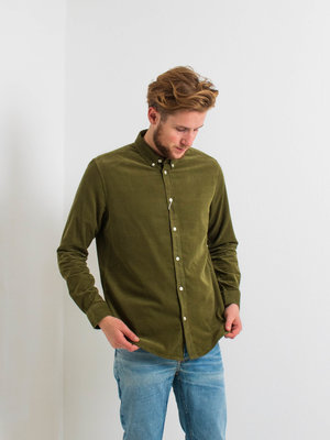 Samsøe Samsøe Liam BX shirt Capulet Olive