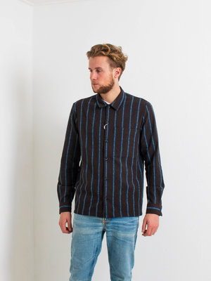 Samsøe Samsøe Taka JY Shirt Black Coffee Stripe