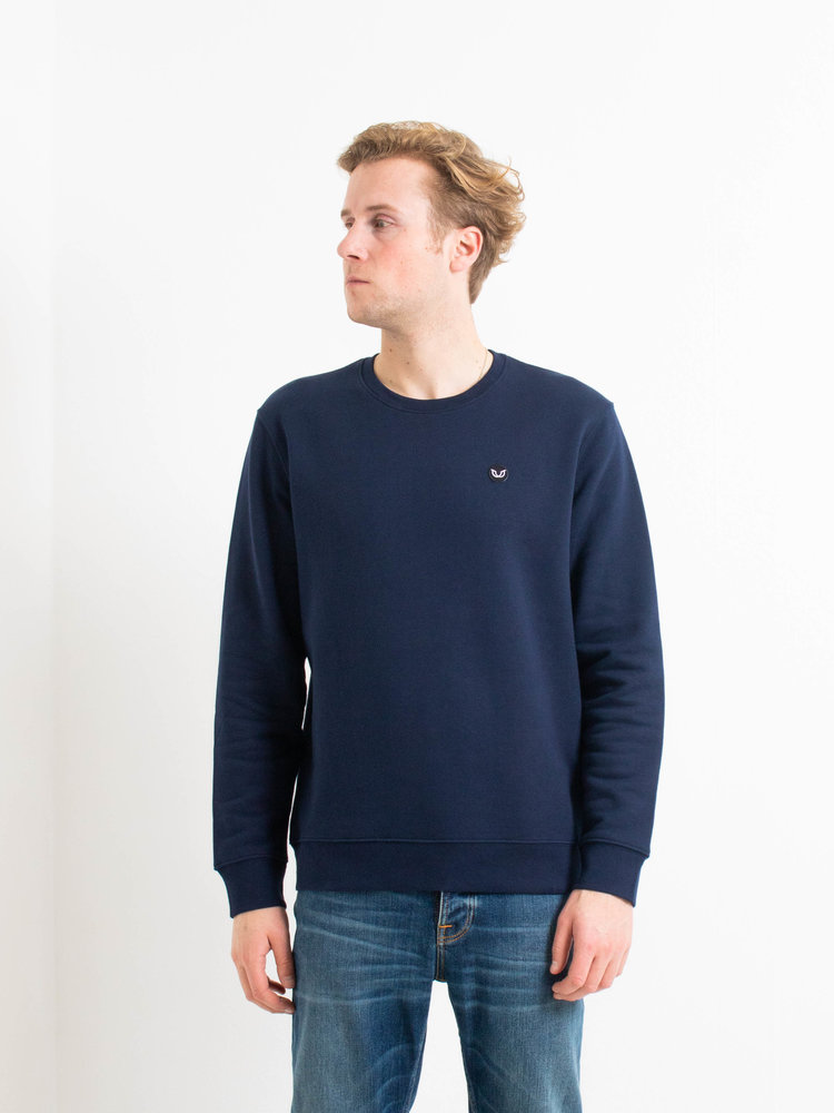 STUEN.Label STUEN.Label STUEN.Sweater Navy