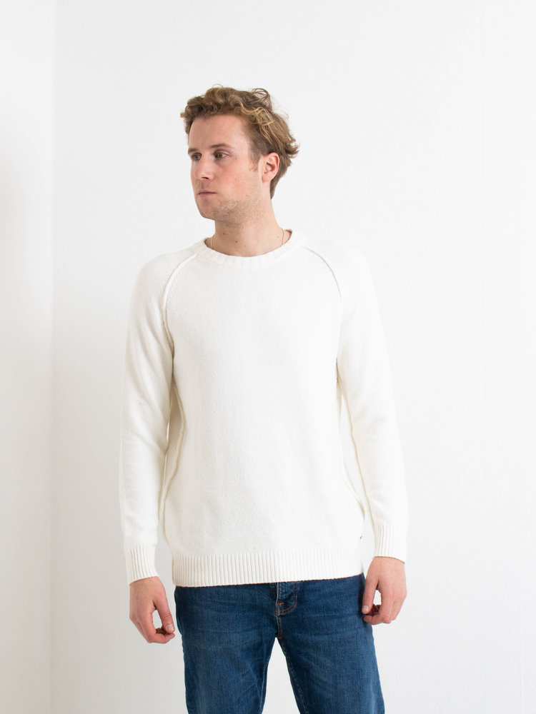 Dstrezzed Dstrezzed Crew Cotton Nylon Off White