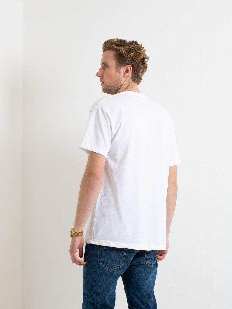 PARLEZ PARLEZ Fitts T-shirt White