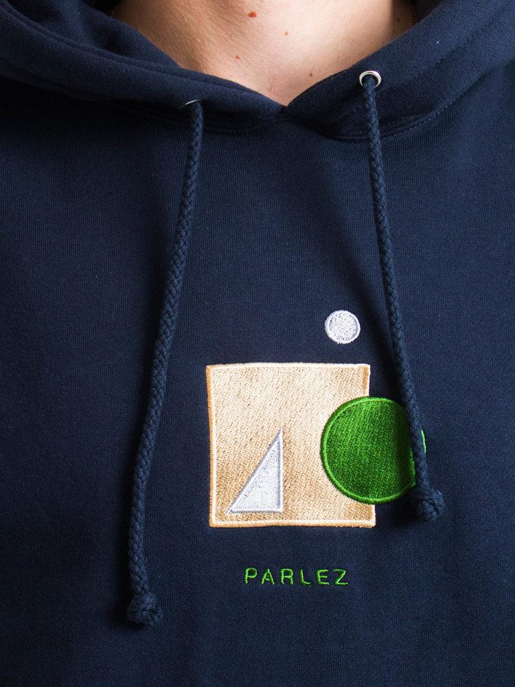 PARLEZ PARLEZ Saintes Hoodie Navy