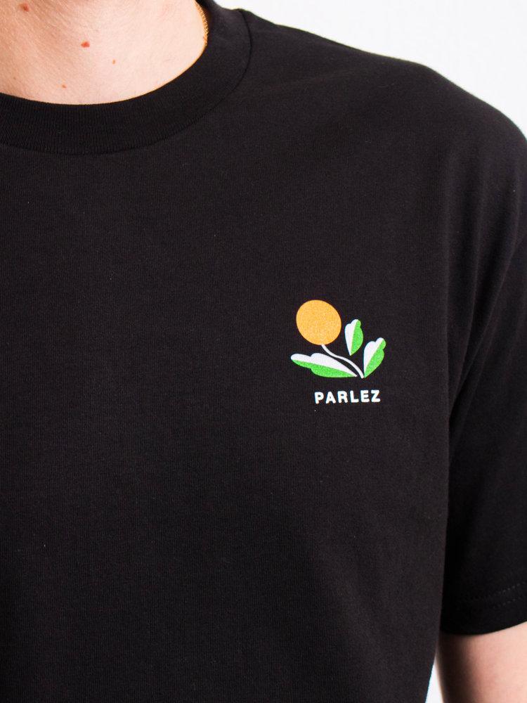PARLEZ PARLEZ Kojo Backprint T-Shirt Black