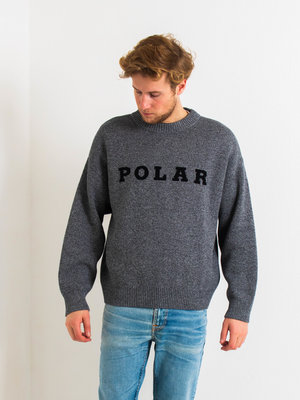 Polar Skate Co. Polar Knit Sweater Black