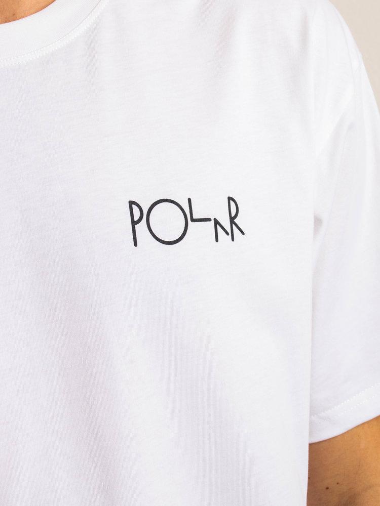 Polar Skate Co. Polar ACAB Fill Logo T-Shirt White