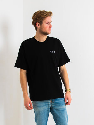 Polar Skate Co. Polar Script T-Shirt Black
