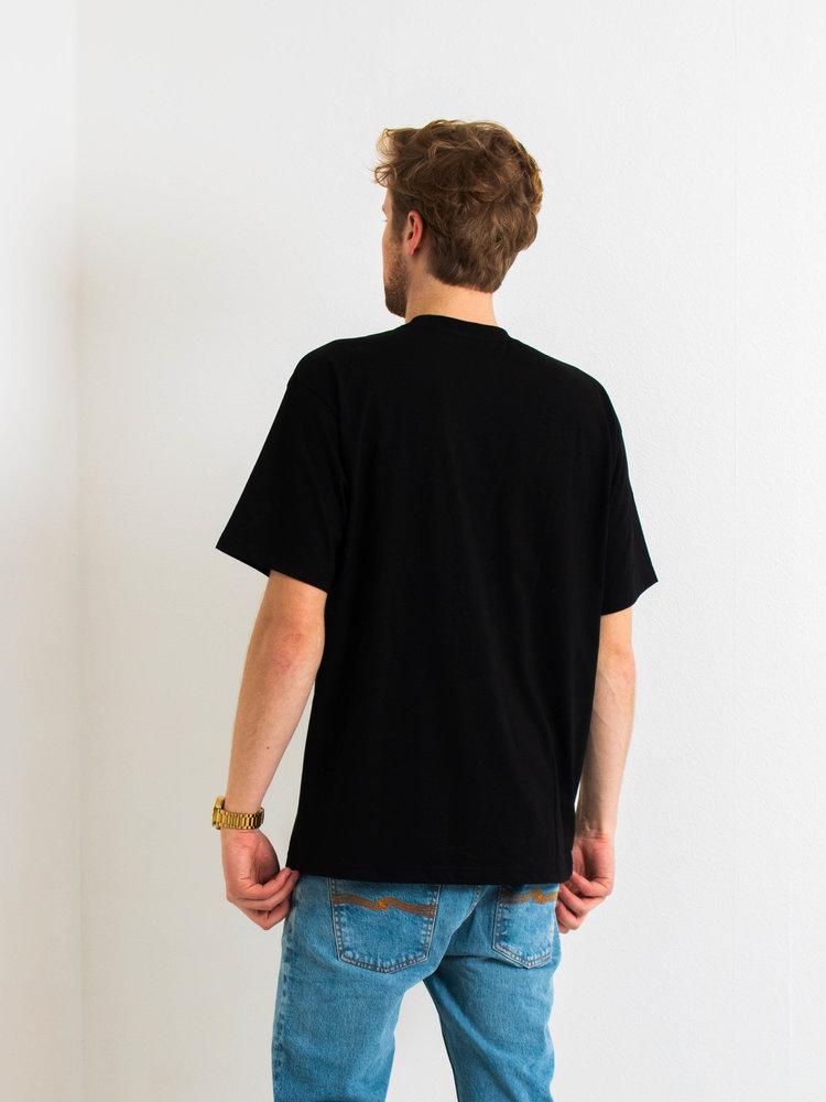 Polar Skate Co. Polar Script T-Shirt Black