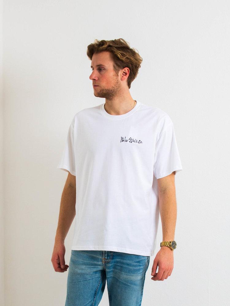 Polar Skate Co. Polar Bistro T-Shirt White