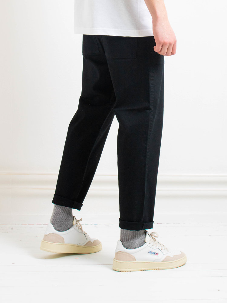 Samsøe Samsøe Samsøe Samsøe Fanon Trousers Black