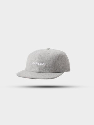 PARLEZ Ladsun Wool 6 Panel Cap Grey