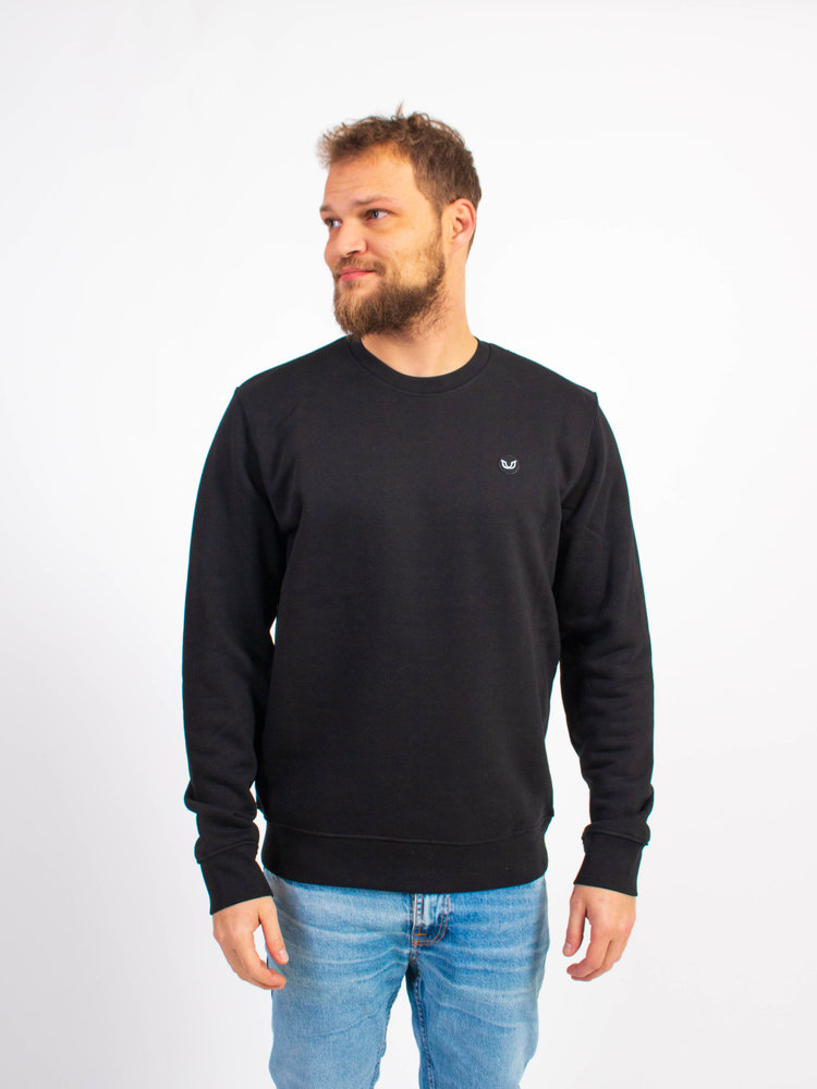 STUEN.Label STUEN.Label STUEN.Sweater Black