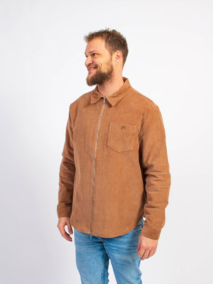 Knowledge Cotton Apparel Knowledge Cotton Apparel 8 Wales Cord Overshirt Tuffet