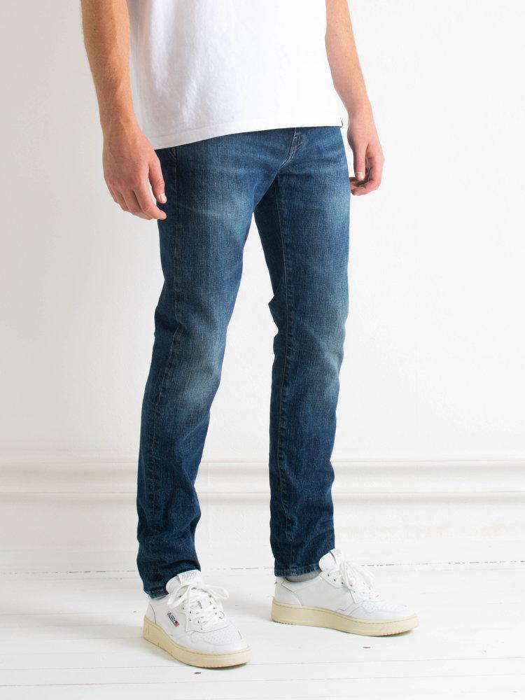 Edwin Jeans Edwin Jeans ED-80 Slim Tapered CS Yuuki Blue Denim Takeo Wash