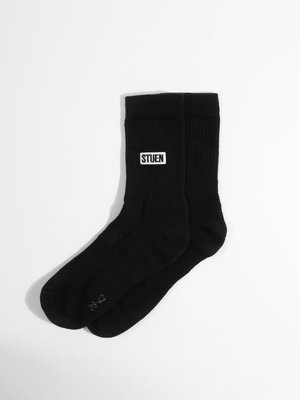 STUEN.Label STUEN.Label STUEN.Socks Black