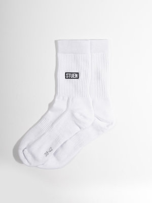 STUEN.Label STUEN.Label STUEN.Socks White
