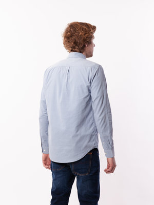 Samsøe Samsøe Liam BX Shirt Dusty Blue