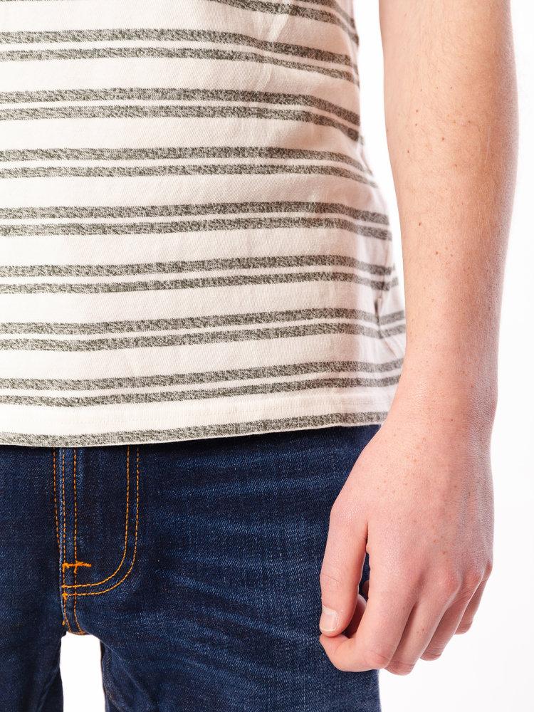Samsøe Samsøe Carpo X T-Shirt Stripe Kambu Green