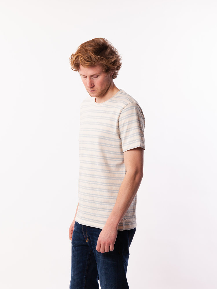 Samsøe Samsøe Capo X T-Shirt Stripe Dusty Blue