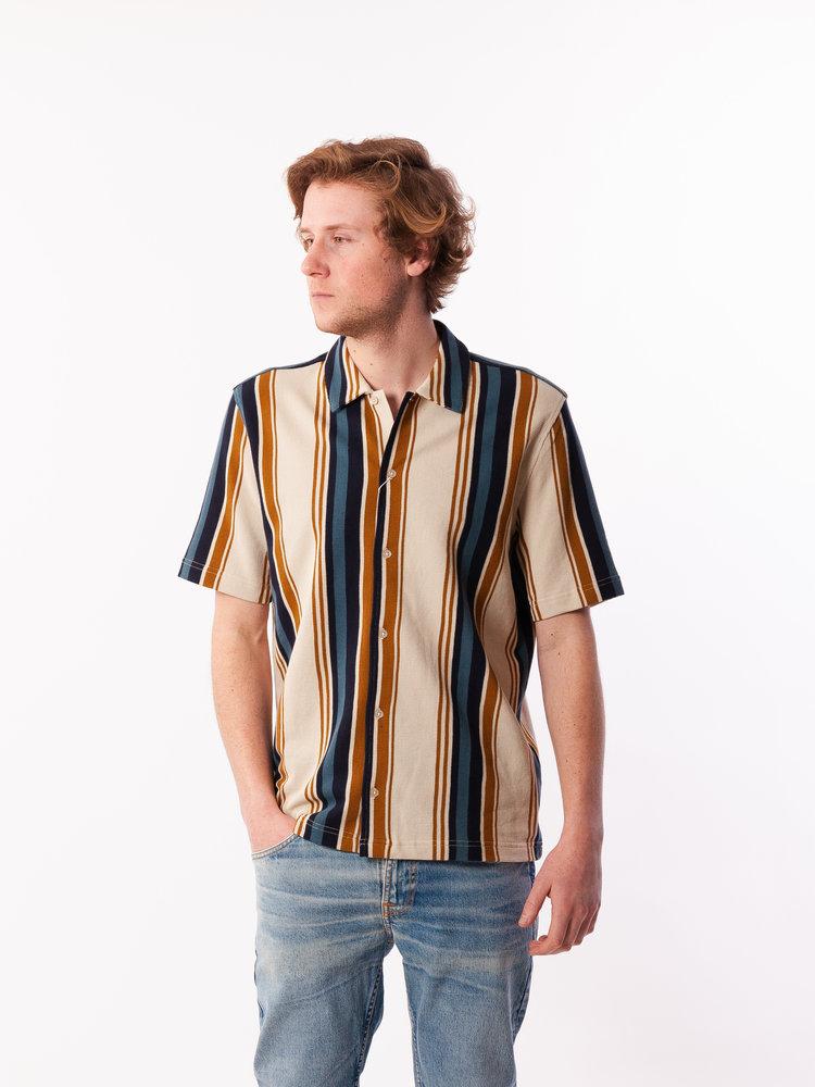 Samsøe Samsøe Kvistbro Shirt Stripe Overcast