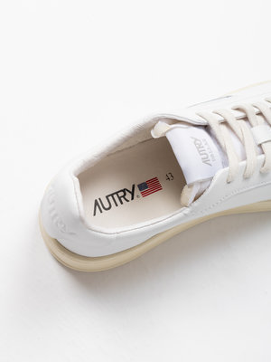 Autry Action Shoes Autry Dallas Leather/Leather White
